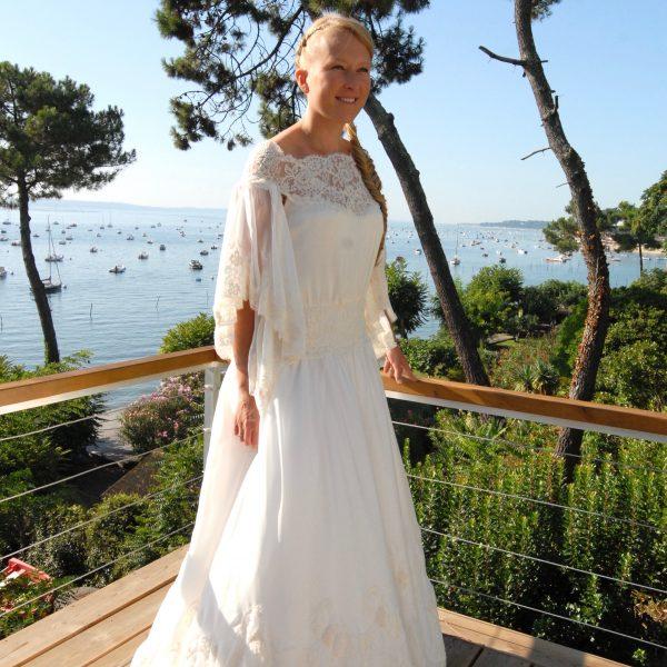 Robe de mariée Création sur mesure Aleksandra